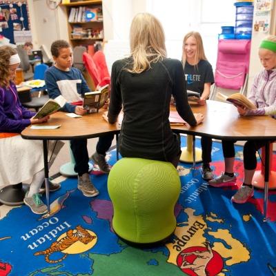 Zenergy Swivel Ball Chair Wittfitt Learning In Motion